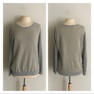 LOFT metallic sweater
